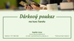 Dárkový poukaz na kurz Tarotu